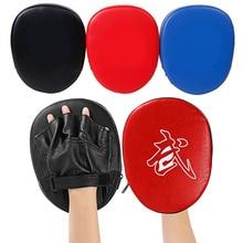 купить PU hand Target Taekwondo  Sanda Martial Muay Thai Kick Karate Hand Foot Training Mitt Focus Punch Pads Boxing Bags T дешево