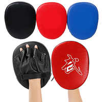 PU hand Ziel Taekwondo Sanda Martial Muay Thai Kick Karate Hand Fuß Training Mitt Fokus Punch-Pads Boxing Bags T