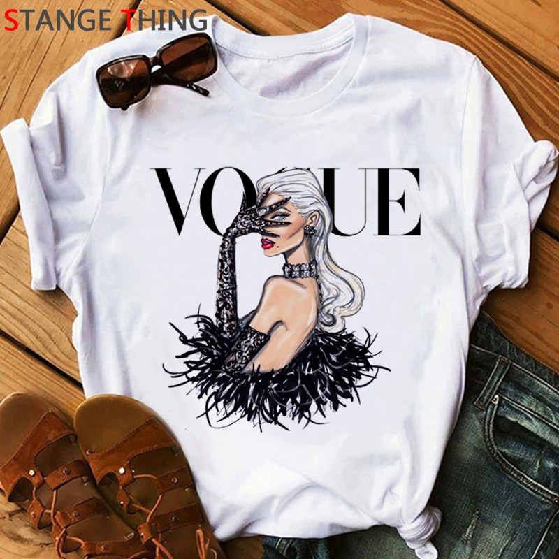 Princess Harajuku Funny Cartoon T Shirt Women Ullzang Vogue Cute T-shirt 90s Korean Style Tshirt Grunge Graphic Top Tees Female