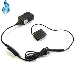 Image 2 - Banco do poder USB cabo + DMW DCC8 BLC12 BLC12E manequim bateria para Lumix DMC GX8 FZ2000 FZ300 FZ200 G7 G6 G5 G80 G81 G85 GH2 GH2K GH2S
