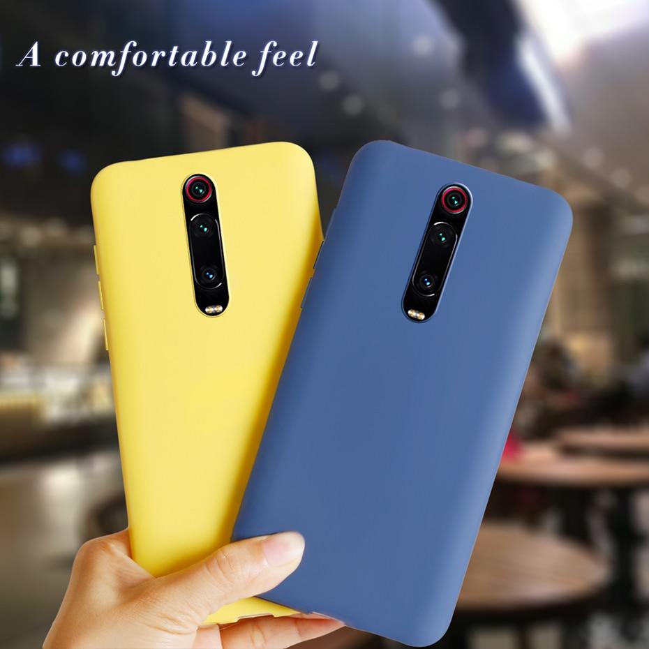 Case For Xiaomi Mi 9T Pro Mi9t Mi9 T Pro Mi9tpro Case Matte Soft Silicone Cover On For Xiaomi Redmi K20 Pro K 20 Pro 20Pro Cases
