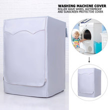 Lave-linge à rouleau entièrement automatique, protection solaire, Machine à laver, housse étanche, sèche-linge, étui anti-poussière en Polyester