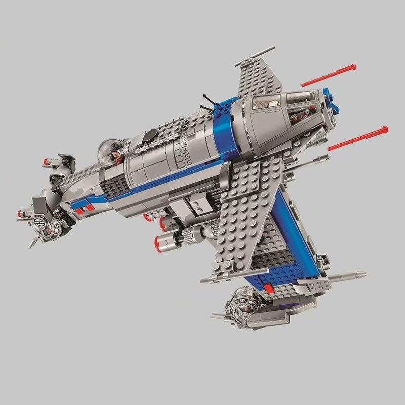 2019 NEW Bela 10914 810Pcs Star Wars series Resistance Bomber Building Blocks Bricks Kids Friends Toys Christmas gift 75188 1