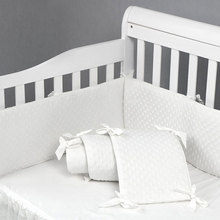 Bumper-Pads Safe-Guards Protector Cot-Liner Cribs Comfortable For Baby 4pcs Standard
