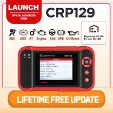 LAUNCH CRP129 diagnosis multimarca scaner automotriz OBD2 escáner lector de códigos para automóvil ABS Airbag motor transmisión herramienta de escaneo de diagnóstico con EPB SAS reinicio de aceite