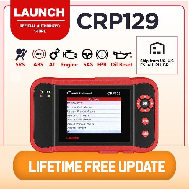 起動X431 CRP129 車スキャンツールcreader OBD2 自動車診断スキャナー自動コードリーダーabsエアバッグエンジン伝送