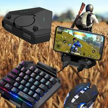 Gamepad Pubg Mobile Bluetooth Mobile Game Controller Professional Gaming Keyboard Mouse Converter Gaming Accessories