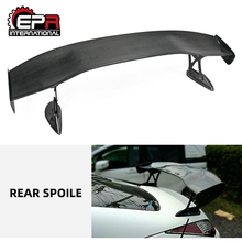 For Nissan 350Z Z33 INGS Carbon Fiber Rear Trunk GT Spoiler (1500mm)   Body Kit carbon fiber rear trunk wings m4 spoiler for bmw 4 series f36 420i 428i 435i gran coupe 4 door 2013 gloss black spoiler wing