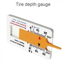Auto Tyre Tread Depth Gauge Caliper Tire Wheel Measure Meter Thickness Detection Repair Tool for Car Motorcycle Trailer