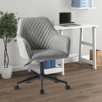 41.5 ×45 × 95 112 Cm High Elastic Sponge Office Chair 360 Degree Swivel Adjustable Height Waterproof Home Commercial Furniture
