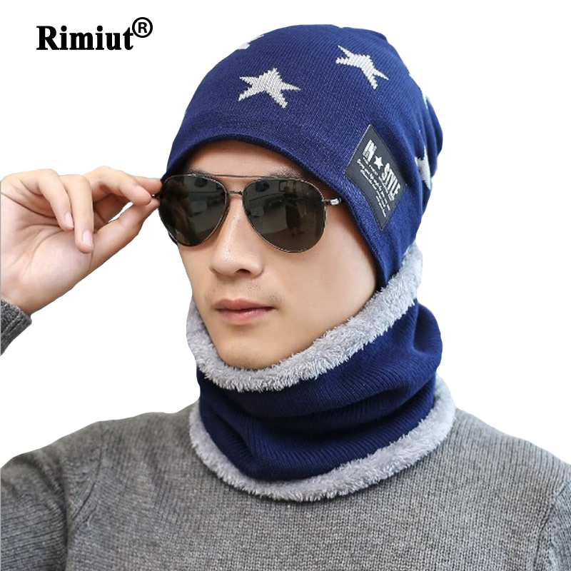 Fashion Men's Autumn Winter Keep Warm Beanies Hat Neck Face Protection Windproof Outside Winter Hats Face Mask Beanies Men Caps