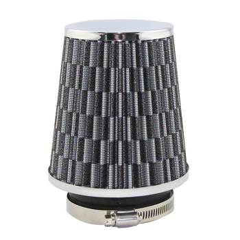 Universal Air Filter Car Performance High Flow Air Filters for Cold Air Intake 3 inch Air Intake Filter Kit Scientific Structure universal car air filter 76mm 3in cone shaped high flow cold air intake mesh filter black mushroom head motorbike cleaner new