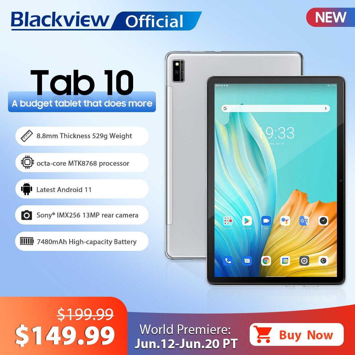 Blackview TAB 10 Android 11 планшет 10,1