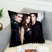 the Vampire Diaries Pillow Case Polyester Decorative Pillowcases Throw Pillow Cover style 7