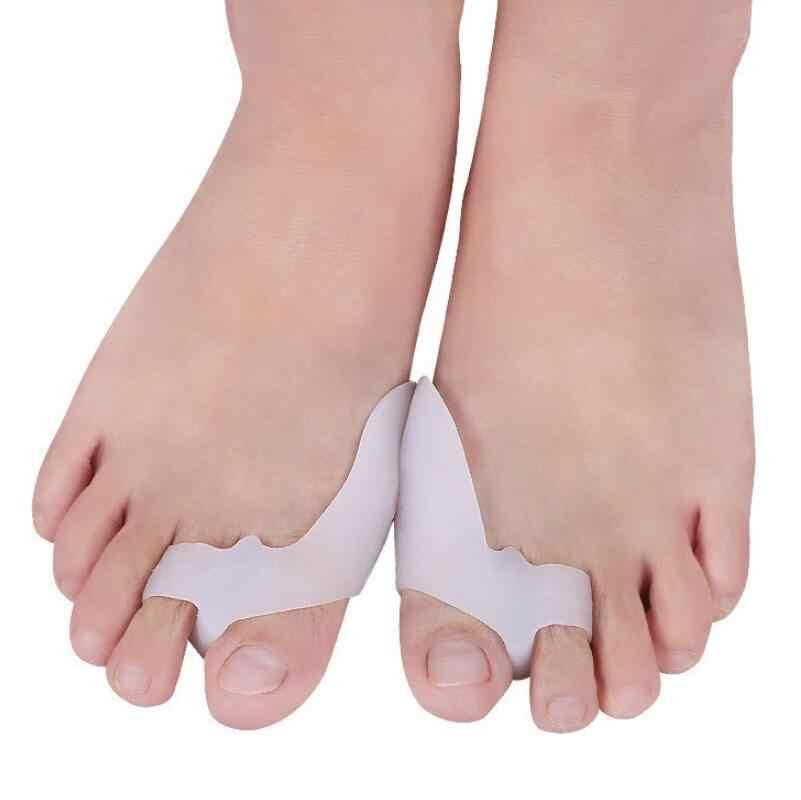 Ortez Astarı Halluks Valgus Ortopedicas Ayak Ayırıcı Ortopedik Tabanlık Plantillas De Jel Silikon Jel Yastık Ayakkabı Ekler