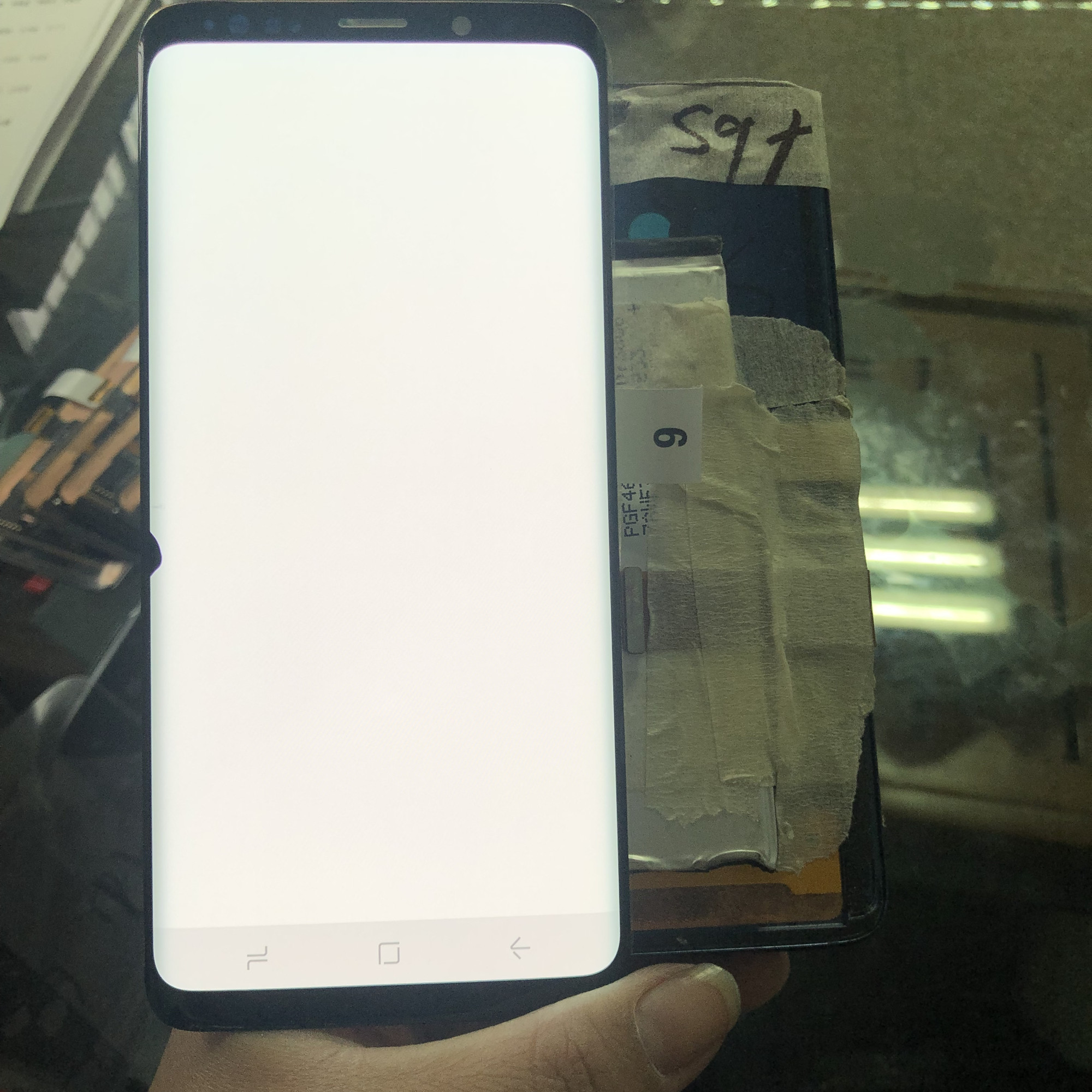 For Samsung Galaxy S9 Plus G965 G965F 6.2 Inch LCD Display+Touch Screen Digitizer With Small Spot Original Amoled Lcd Assembly