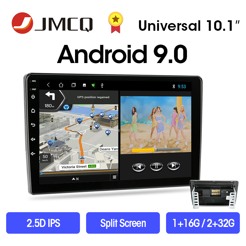 JMCQ Android 9.0 2din Car Radio 9/10