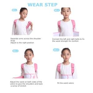 Image 4 - Correcteur de Posture de soutien lombaire pour enfants, dispositif respirant, Durable et confortable, Support lombaire