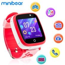 Детские Смарт-часы Minibear с играми, часы для телефона, Детские Смарт-часы, 2G sim-карты, фото камеры, часы, подарок на день рождения для девочек