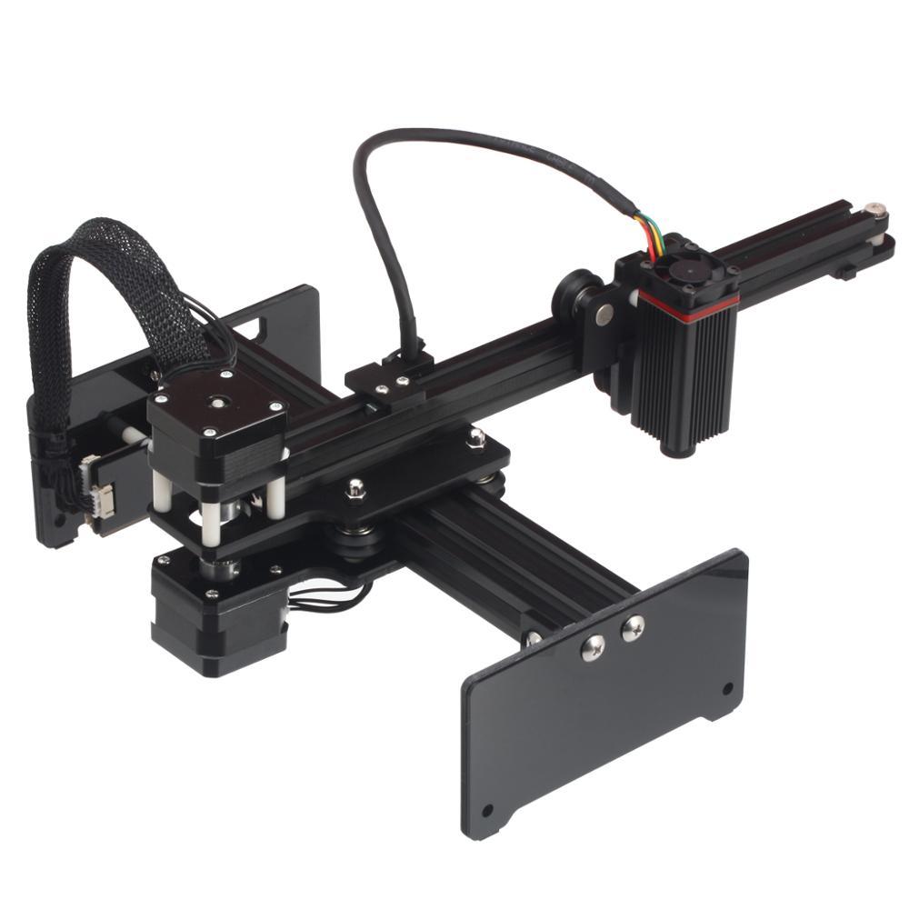 NEJE MASTER 3500mW Laser Engraving Machine DIY Mini CNC Cutting Wood Router Desktop Engraver for Windows, Mac - 2