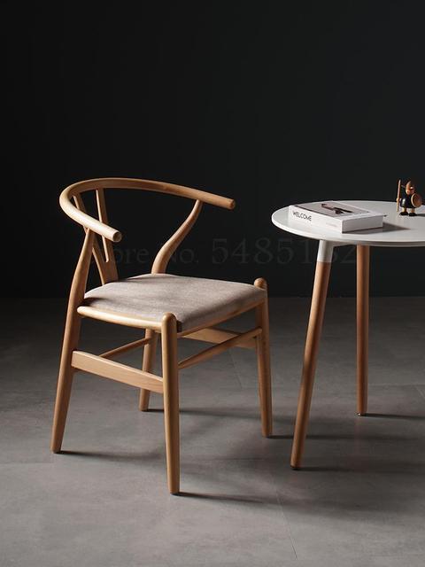 Minimalist Modern Wooden Chair 2