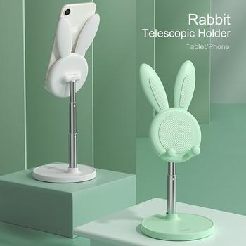 Soporte de escritorio para teléfono móvil, base ajustable Universal y portátil para tableta, para IPhone Huaiwei Ipad