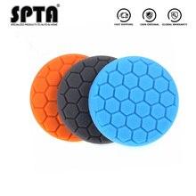 """SPTA 3 """"/4""""/5 """"/6""""/7 """"Губка для полировки, набор для полировки автомобиля, дома, сделай сам, восковая Полировочная поролоновая подкладка, авто полировальная губка, диск"""