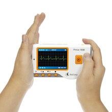 Heal Force медицинский Портативный Легкий ЭКГ монитор Хо использовать держать использовать монитор сердечного ритма с USB кабелем электрода Pad провода