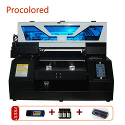 Procolored Full Automatic Digital Led Flatbed UV Printers A3 Size Print For Glass Phone Case Wood Metal Bottle Printing Machine