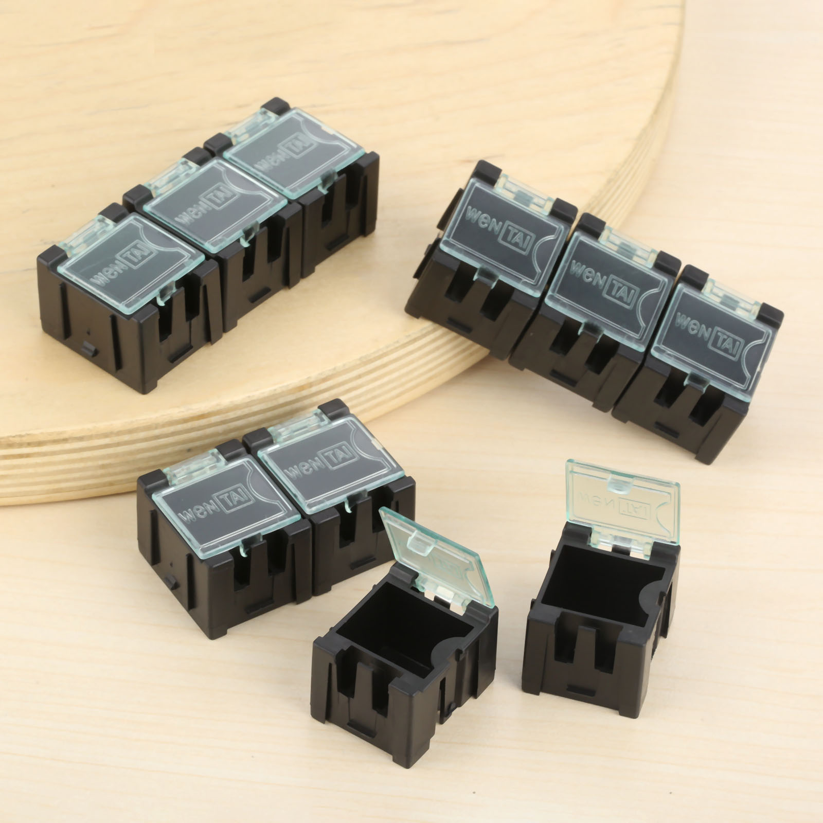 Small Objects Electronic Component SMT//SMD Kit Parts Storage Box Dis//Assembly