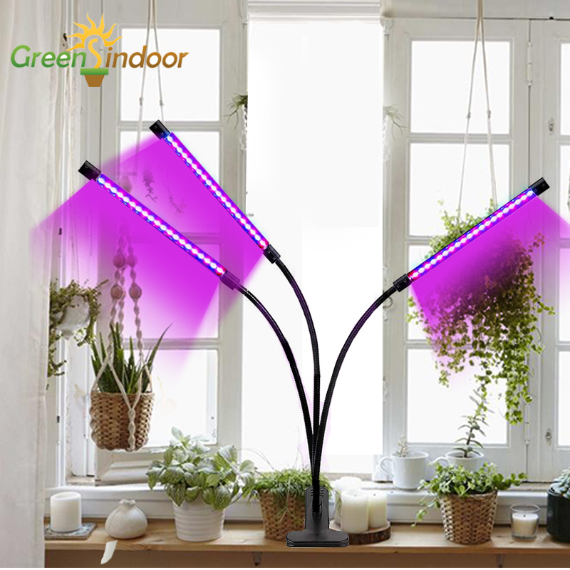 Indoor USB LED Grow Light 27W Phyto Lamp For Plants Full Spectrum Fitolamp Fitolampy For Window Succulents Seedlings Home Flower