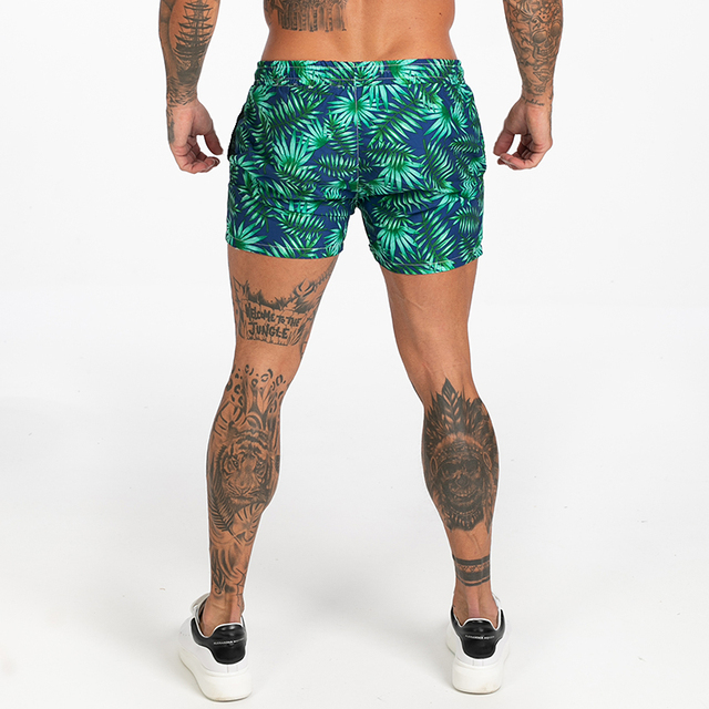 Mens Swim Trunks Mesh Lining Men Board Shorts with Pockets Swim Wear for Surfing, Swimming Summer Holiday Bathing Suits Fast Dry 8
