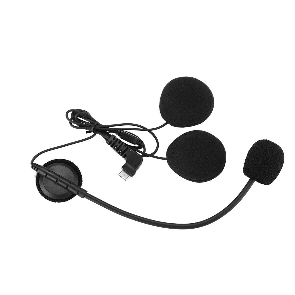 2017 Motorcycle Bluetooth Helmet Intercom Mic//Headphone Speaker Headset BT-S1//S2