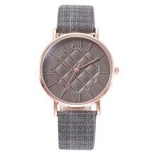 Moda 2020, relojes casuales para mujer, relojes de cuarzo para mujer, de cuero, Srap, relojes redondos para mujer, reloj sencillo, ofertas de relámpago Klok