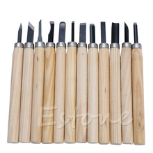 12pc Professional Wood Carving Hand Chisel Knife Tool Set Woodworkers Gouges стоимость