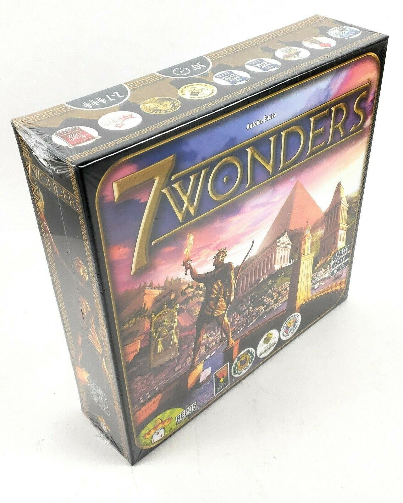 7 Wonders Board Game 2-7 Players Cards Game Family Home Entertainment Strategy Toy Table Games in English(China)