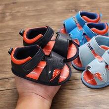 Сандалии детские Нескользящие мягкая летняя обувь для первых