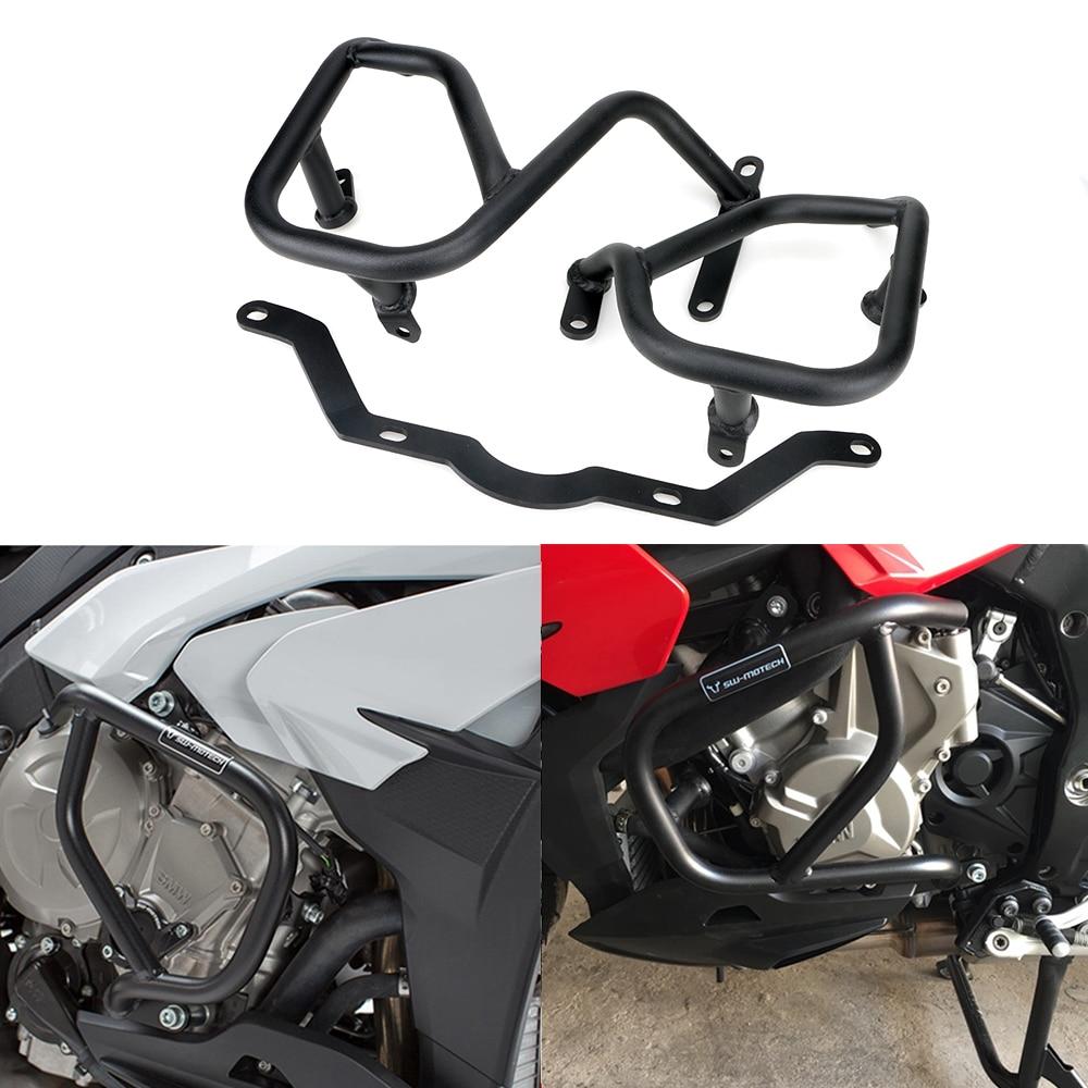 Color : Black para BMW S1000XR 2015-2019 Protectores De Carenado De Motocicleta Protecci/ón contra Ca/ídas Protector De Moto Tapas Antichoque Deslizadores De Marco