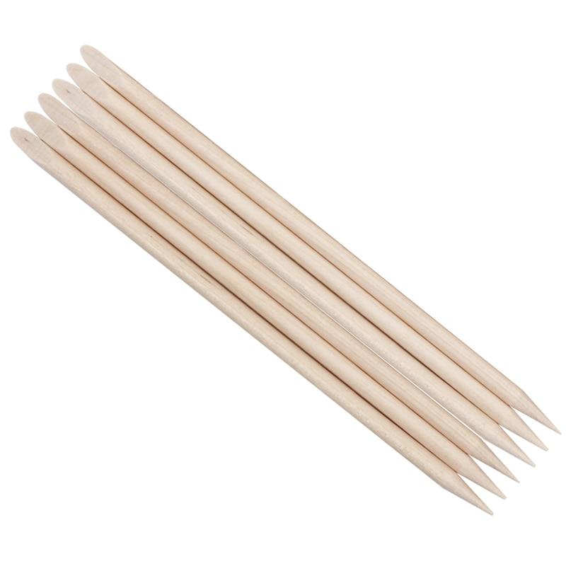 200pcs Nail Art Design Wooden Cuticle Pusher Nail Art Wood Stick Nail Wooden Sticks Manicure Pedicure Care Nail Art Tool