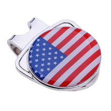 Durable  Cap Visor Hat Clip Golf Ball Marker Golf Gift Accessories