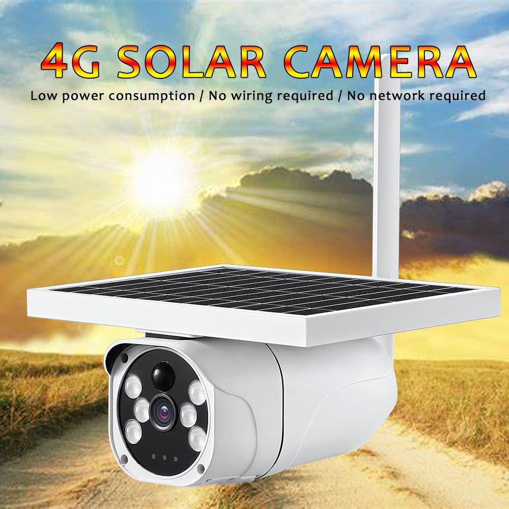 Yobang sécurité faible consommation d'énergie solaire sécurité extérieure Intelligence caméra soutien 4G réseau App contrôle solaire puissance Cam