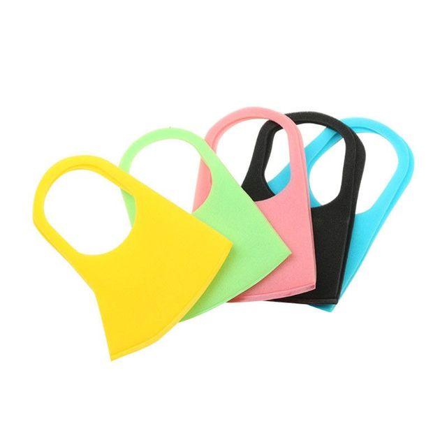 3Pcs Kids PM2.5 Sponge Anti Pollution Face Mask Washable Reusable Sponge Dustproof Mouth Mask Anti Flu Mask for Children 3