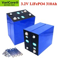 Batteria ricaricabile VariCore 3.2V 310Ah lifepo4 batteria ricaricabile 12V 24V 310AH fai-da-te per auto elettrica sistema di accumulo di energia solare RV
