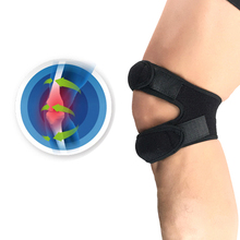 1шт новый герметичный колено обернуть рукав поддержка бандаж безопасность упругой наколенники отверстие наколенник баскетбол attrezzi Палестра