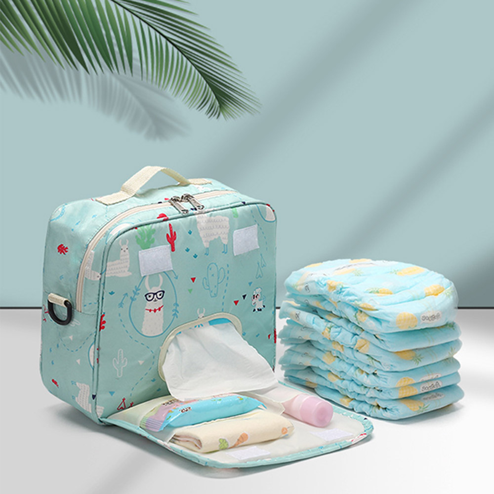 Baby Diaper Bags Fashion Mummy Maternity Nappy Bag Reusable Baby Travel Backpack Wet /Dry Organizer Waterproof Baby Nursing Bag