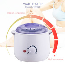 Professional Wax Heater Machine 1000CC Wax Pot Women & Men Hair Removal Wax Warmer Tool SPA Depilatory Paraffin Melts Machine