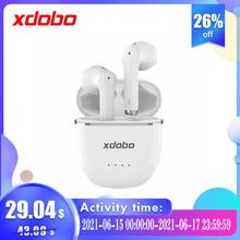 XDOBO Gem2005 TWS Bluetooth 5.2 Earphones Qualcomm 3040 aptX Wireless Earbuds Noise Cancellation 40H Playtime VS TWS200 Onyx Ace