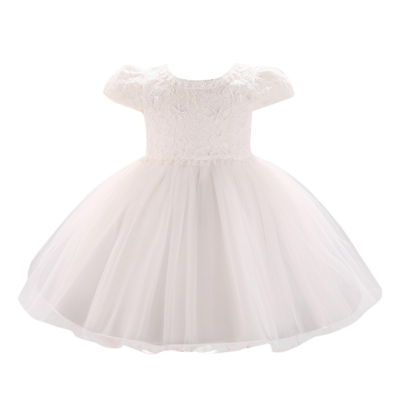 Girl Dress--Multicolor Embroidery Design Lace Little Princess Comfortable Casual Party Children Pageant Mesh Princess Dresses image