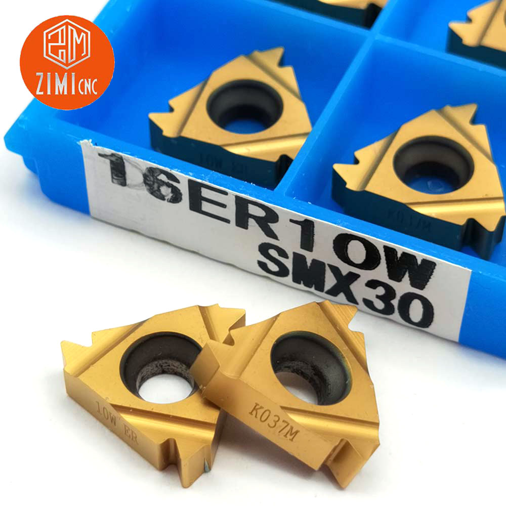 10pcs 16ER3.0 ISO SMX30 High quality Carbide Threading Inserts