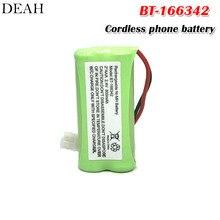 1 шт. BT-166342 800 мАч AAA металл-гидридных или никель Перезаряжаемые Батарея Uniden BT-166342 BT166342 166342 BT-266342 беспроводной телефон Батарея